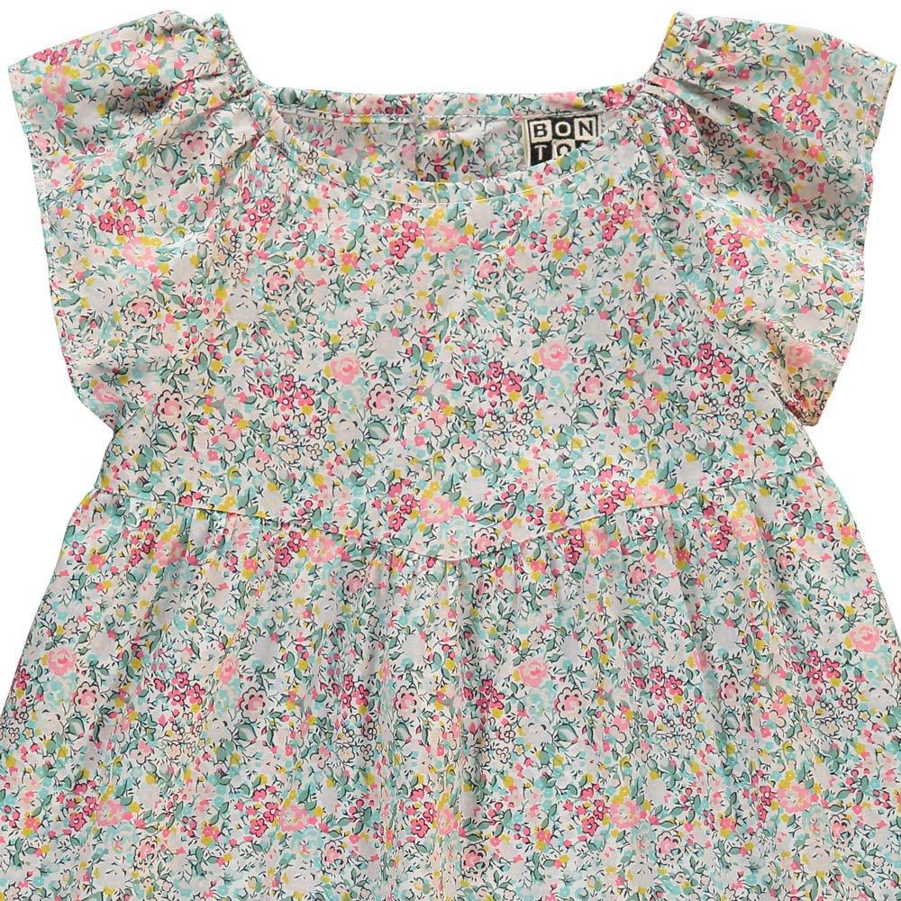 blouse liberty limonade rose bonton mode b b enfant. Black Bedroom Furniture Sets. Home Design Ideas