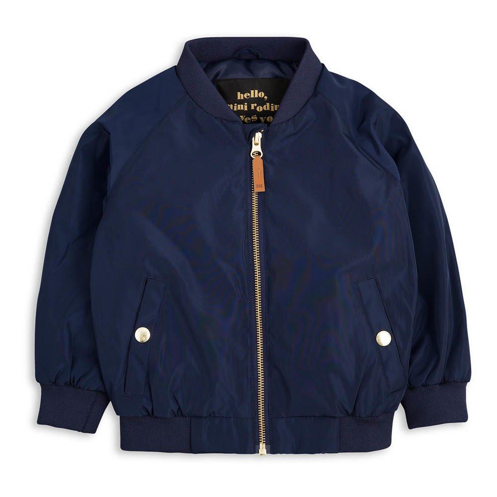 Frog Baseball Jacket Navy blue Mini Rodini Fashion Baby ,