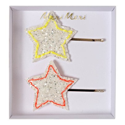 Meri Meri Star Hair Clips - Set of 2-listing