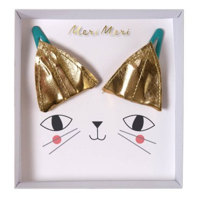 Meri Meri Cat Ear Hair Clips - Set of 2-listing