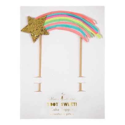 Meri Meri Shooting Star Cake Decoration-listing