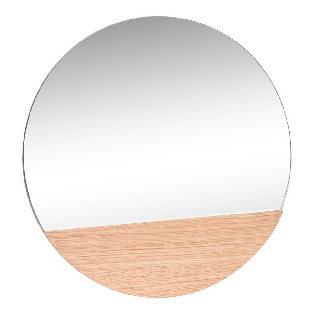 Miroir rond Naturel Hübsch Design Adolescent