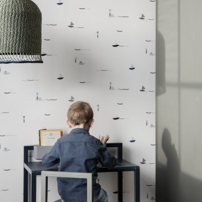 Ferm Living Kids Wicker Ceiling Light-listing