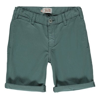 Sunchild Jojo Denim Cargo Bermuda Shorts-listing