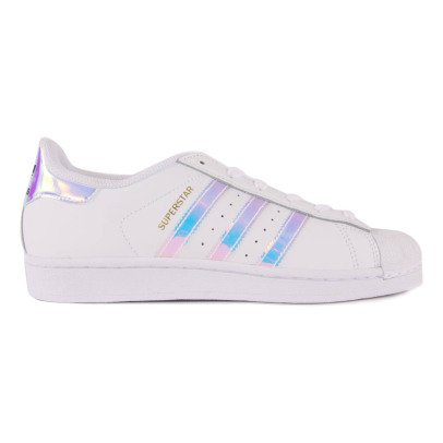 Adidas Baskets Lacets Cuir Irisé Superstar-listing