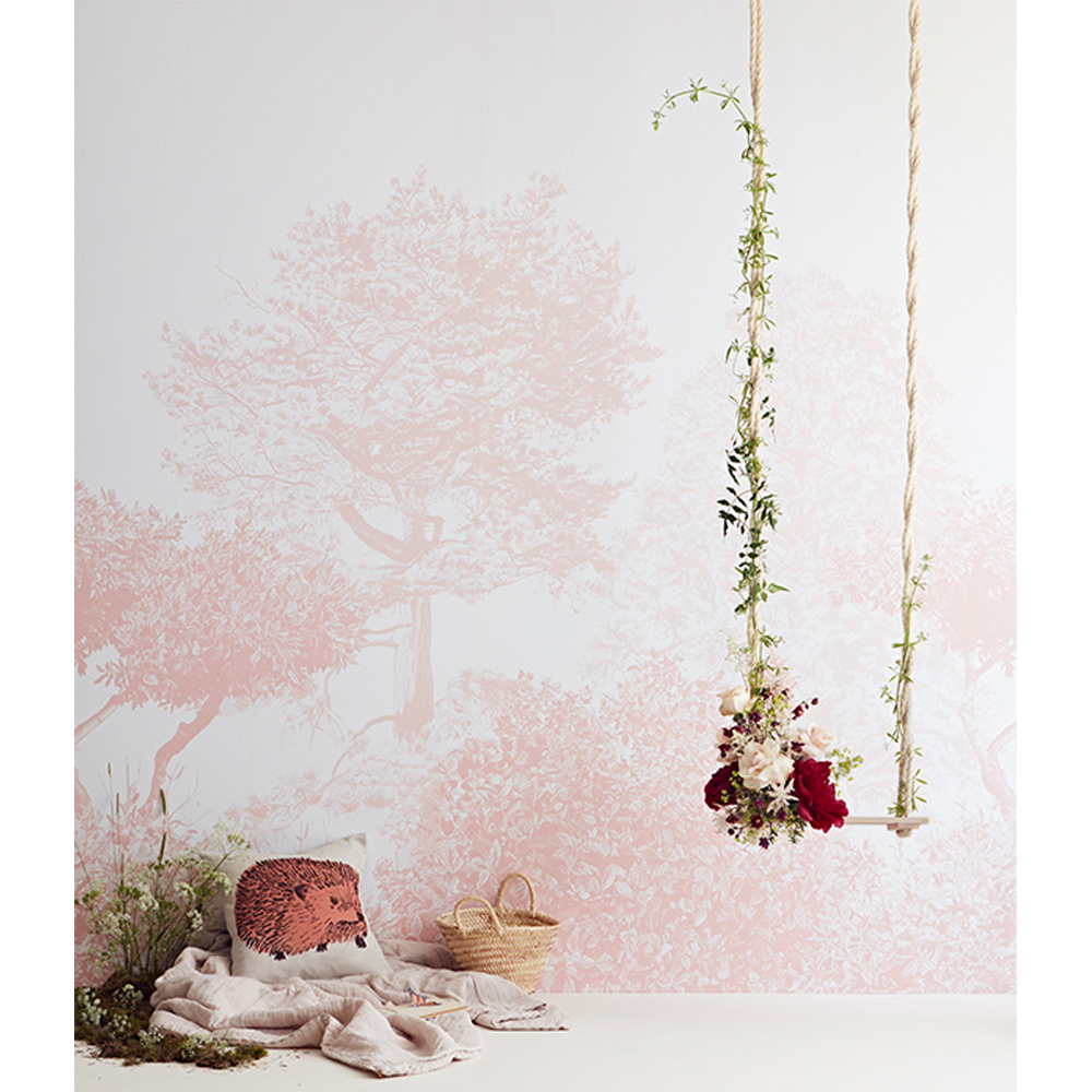 papier peint arbre hua rose sian zeng design enfant. Black Bedroom Furniture Sets. Home Design Ideas