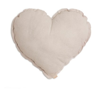 Numero 74 Heart cushion - powder-listing