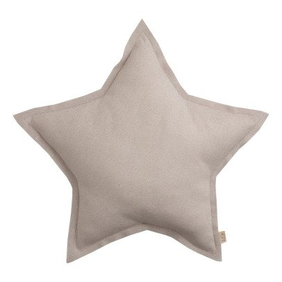 Numero 74 Tulle Glitter Star Cushion - Powder-listing