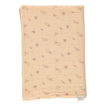 Poudre Organic Large Printed Swaddle 120x120cm-listing
