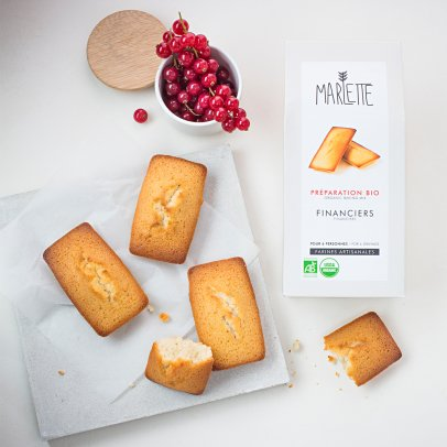 Marlette Organic Financier Mix-listing
