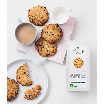 Marlette Organic Chocolate Chip and Sesame Seed Cookie Mix-listing
