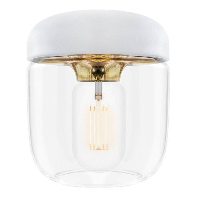 Vita White Acorn Ceiling Light-listing
