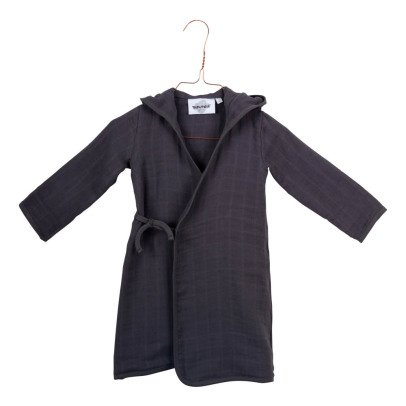 Moumout Pépin Honeycomb Kimono Dressing Gown-listing