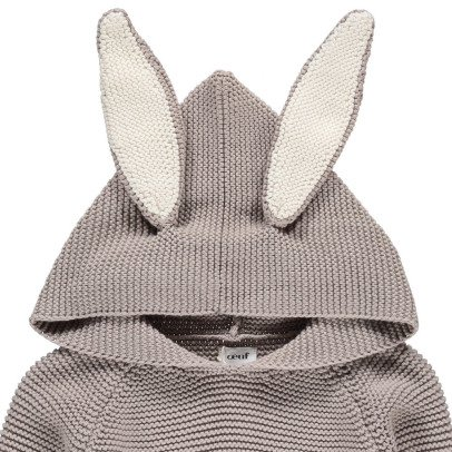 Oeuf NYC Pullover mit Kapuze Hase-listing