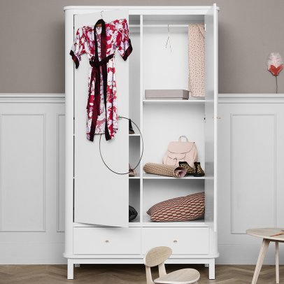 Oliver Furniture 2 Door Birch Wardrobe-listing