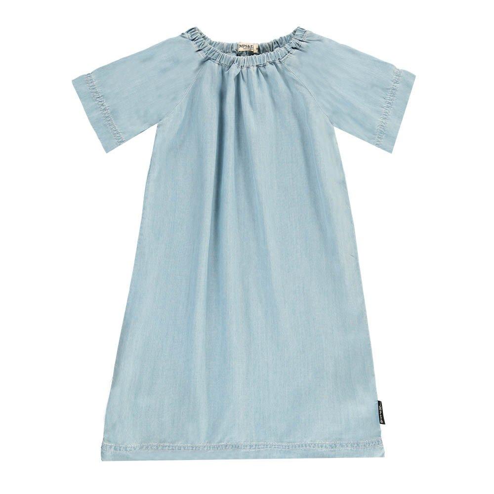Light Dress Denim blue Imps & Elfs Fashion Baby , Children