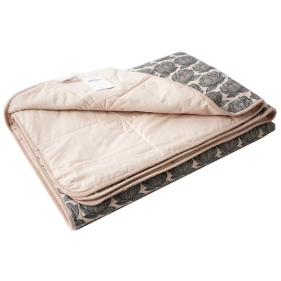 Moumout Peony Quilted Cotton Plaid-listing