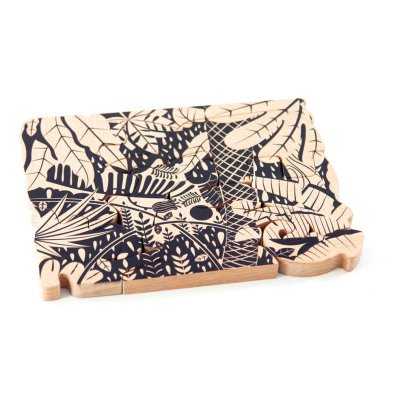Bajo Wooden Jungle Puzzle-listing