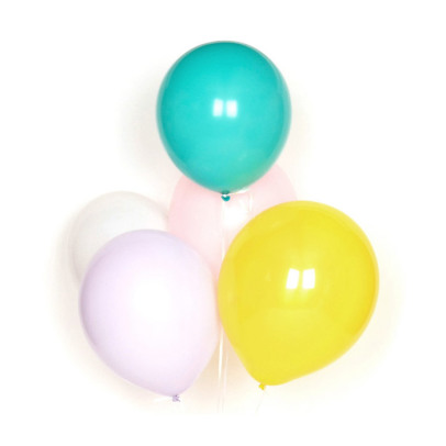 My Little Day Set of 10 latex balloons - pastel-listing