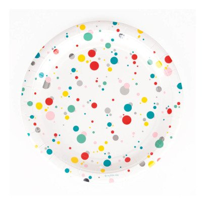 My Little Day Bubble Paper Plates - Set of 8-listing
