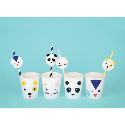 My Little Day Animal Paper Cups - Set of 8-listing