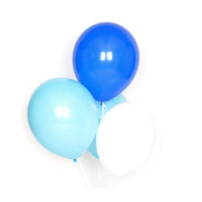 My Little Day Set of 10 latex balloons - blue-listing