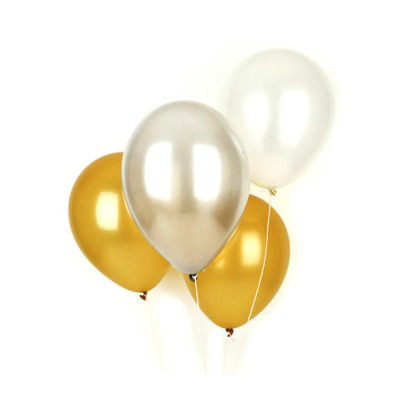 My Little Day Set of 10 latex balloons - metallic-listing