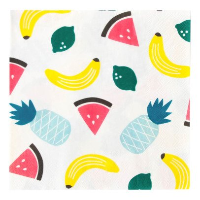 My Little Day Serviettes en papier Fruits - Lot de 20-listing