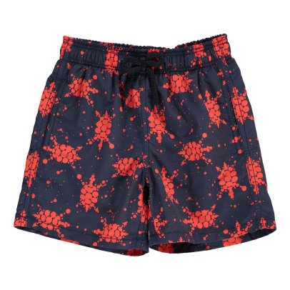 Vilebrequin Shorts da Bagno Japan Turtles-listing