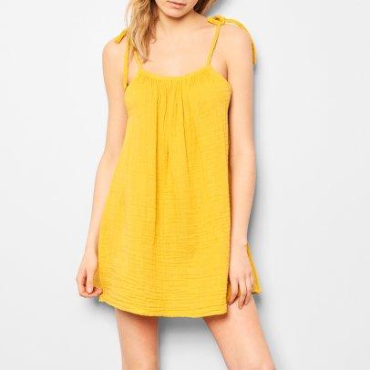 Mia Mini Dress - Teen and Womens Collection Yellow Numero 74 MHt11V