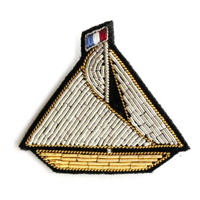 Macon & Lesquoy Sailing Boat Brooch-listing