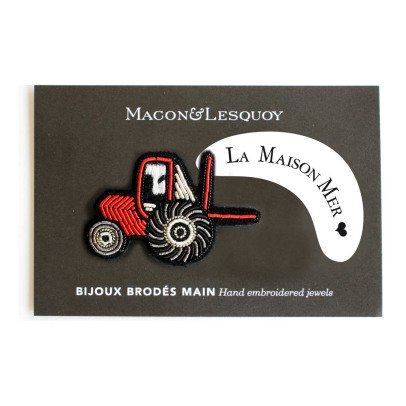 Macon & Lesquoy Sea House Tractor Brooch-listing