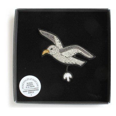 Macon & Lesquoy Seagull Brooch-listing