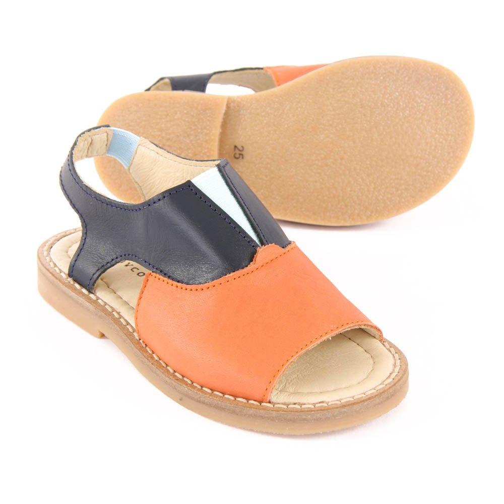 Sandales Color Block Orange-product