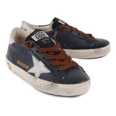 Golden Goose Deluxe Brand Superstar Leather Lace-Up Trainers-product