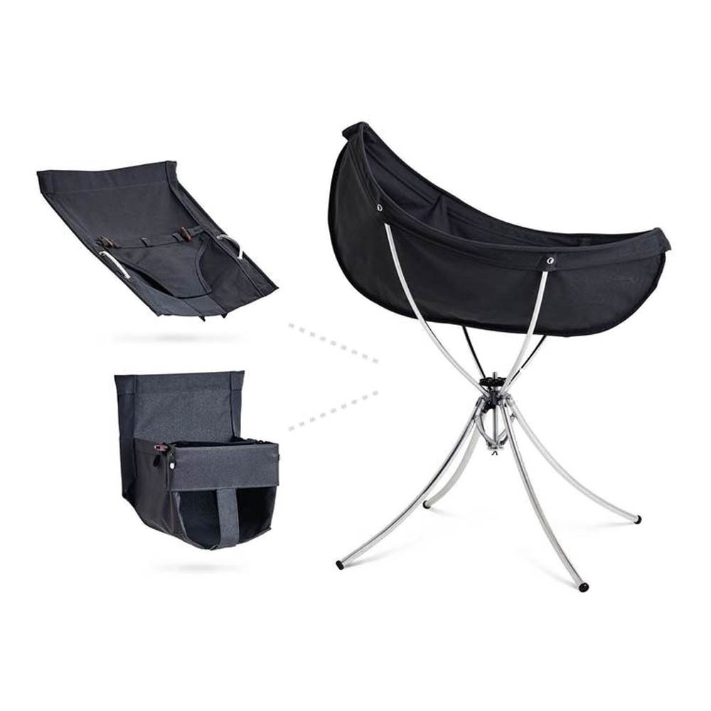 Travel Kit Convertible 3-in-1 Bed Baby Bouncer High Chair-  sc 1 st  Smallable & Travel Kit Convertible 3-in-1 Bed Baby Bouncer High Chair Black