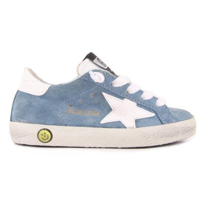 Golden Goose Baskets Basses Suède Etoile Blanche Superstar-listing
