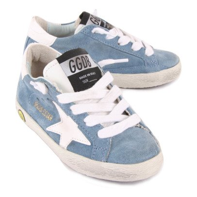 Golden Goose Deluxe Brand Sneakers Lacci Camoscio Superstar-listing
