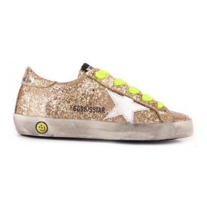 Golden Goose Baskets Basses Lacets Paillettes Superstar-listing