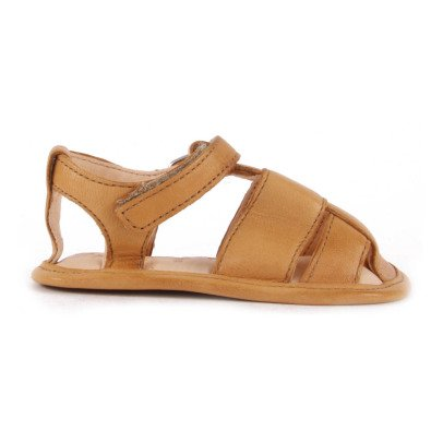 Easy Peasy Nonno Velcro Leather Sandals-listing