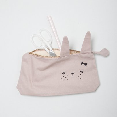 Fabelab Organic Cotton Bunny Pencil Case - 22x12cm-listing
