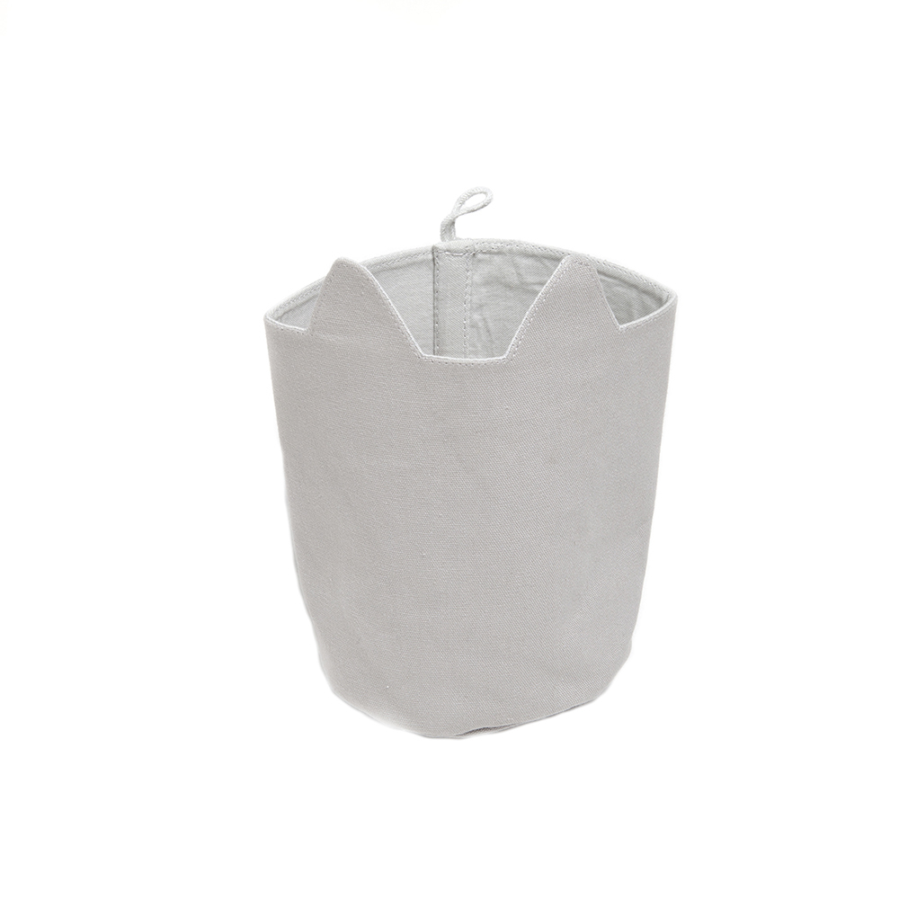 Cesta de almacenamiento gato - 10x12cm Gris Fabelab Design