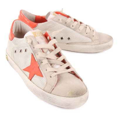 Golden Goose Superstar Mesh Lace-Up Trainers-listing