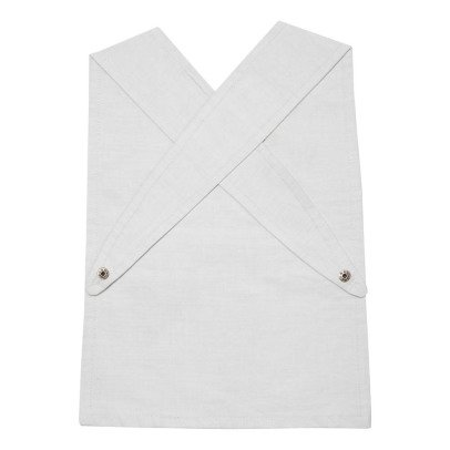 Fabelab Organic Cotton Pirate Japanese Apron Bib-listing