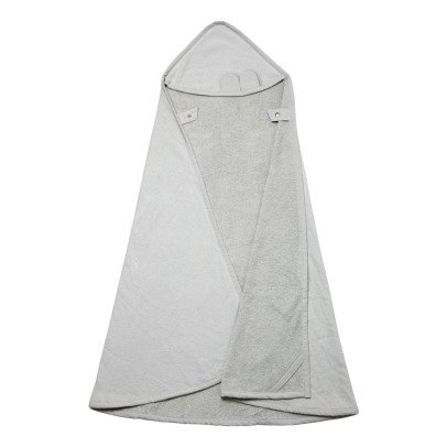 Fabelab Organic Cotton Bear Bath Cape - 80x80cm-listing