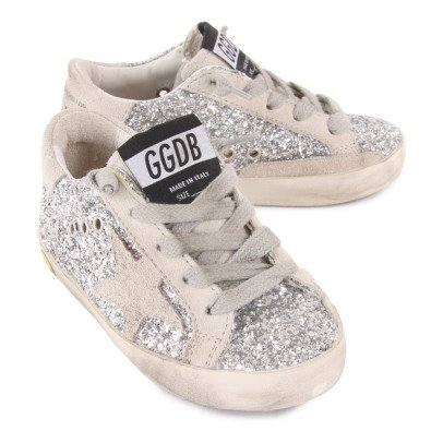 Golden Goose Deluxe Brand Sneakers Lacci Paillette Superstar-listing