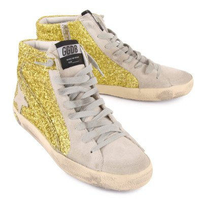 Golden Goose Deluxe Brand Sneakers Lacci Zip Paillettes -listing