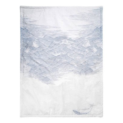 garbo&friends Plaid Ocean en percale doublé-listing