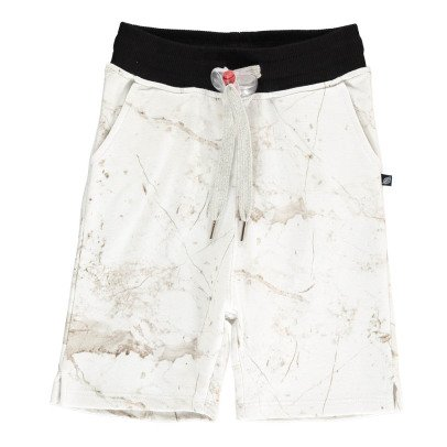 Sweet Pants Shorts Mollettone Effetto Marmo-listing