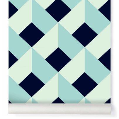 papier peint mosaic soft 182x280 cm 2 l s bien fait design. Black Bedroom Furniture Sets. Home Design Ideas